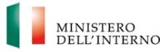 Logo del Ministero dell'Interno